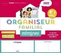 Organiseur familial 2022 : 16 mois, de septembre 2021 à décembre 2022