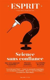 Esprit. n° 472, Science et croyance