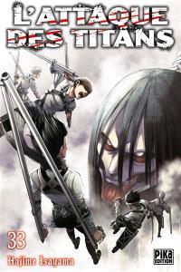 L'attaque des titans. Volume 33
