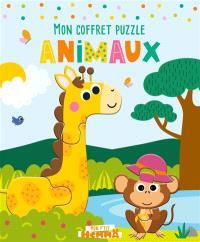 Mon coffret puzzle animaux