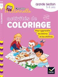Activités de coloriages : GS