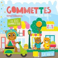 La ville : gommettes repositionnables pour les petits