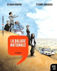 Histoire dessinée de la France. Volume 1, La balade nationale : les origines