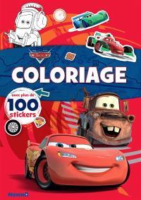 Coloriage : Cars, Flash McQueen et Martin : avec plus de 100 stickers