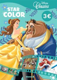 Disney classics : la Belle et la Bête : star color