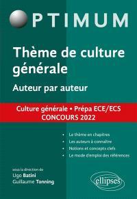 Aimer, auteur par auteur : littérature, philosophie, culture générale, prépa ECG : concours 2022