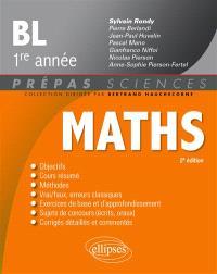 Maths, BL 1re année