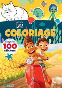 Luca : coloriage avec plus de 100 stickers
