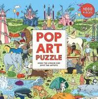 POP ART PUZZLE /ANGLAIS
