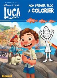 Luca : mon premier bloc à colorier