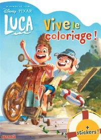 Luca : vive le coloriage ! + stickers