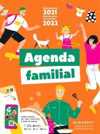 Agenda familial : septembre 2021-décembre 2022
