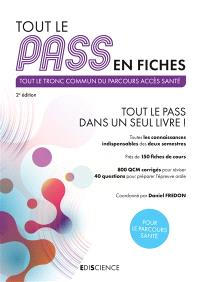 Tout le Pass en fiches : tout le tronc commun du parcours accès santé