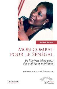 Mon combat pour le Sénégal : de l'université au coeur des politiques publiques