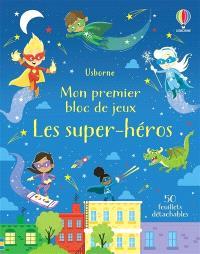 Mon premier bloc de jeux : les super-héros