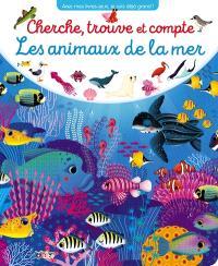 Les animaux de la mer : cherche, trouve et compte