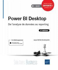 Power BI Desktop : de l'analyse de données au reporting