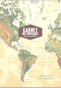 Carnet de voyages : tour du monde