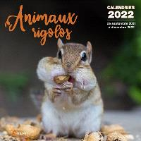 Animaux rigolos : calendrier 2022 : de septembre 2021 à décembre 2022
