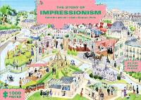 THE STORY OF IMPRESSIONISM (AN ART JIGSAW PUZZLE) SPOT THE ARTISTS IN BELLE EPOQUE PARIS /ANGLAIS
