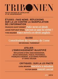 Tribonien : revue critique de législation et de jurisprudence. n° 4