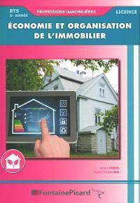 Economie et organisation de l'immobilier, BTS professions immobilières, licences, 2e année