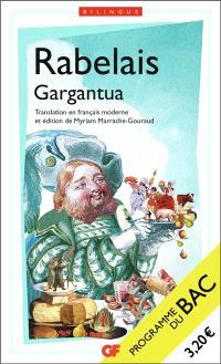 Gargantua : nouveaux programmes 1re