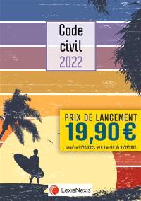 Code civil 2022 : jaquette surfer