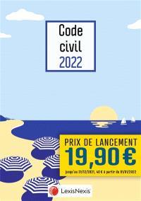 Code civil 2022 : jaquette parasol