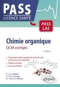 Chimie organique : QCM corrigés