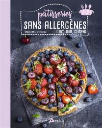 Pâtisseries sans allergènes (lait, soja, gluten)