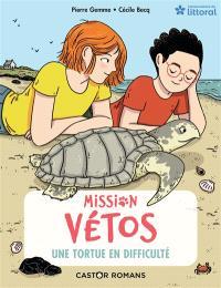 Mission vétos. Volume 8, Une tortue en difficulté
