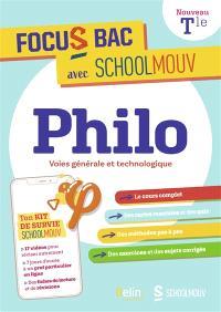 Philo : terminale, voies générale et technologique