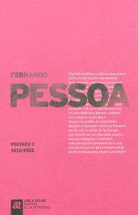 Proses. Volume 1, 1912-1922