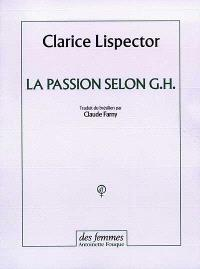 La passion selon G. H.