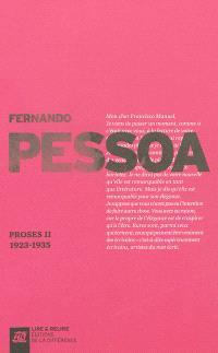 Proses. Volume 2, 1923-1935