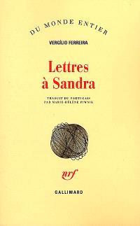 Lettres à Sandra