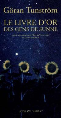 Le livre d'or des gens de Sunne