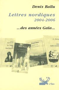 Lettres nordiques en traduction française 2004-2006