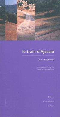 Le train d'Ajaccio