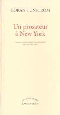 Un prosateur à New York