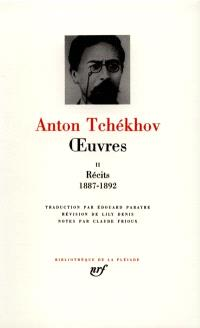 Oeuvres. Volume 2, Récits : 1887-1892