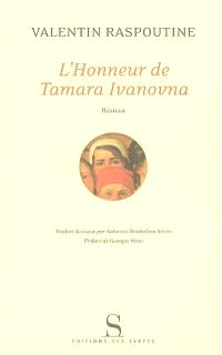 L'honneur de Tamara Ivanovna