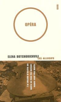 Opéra  : roman