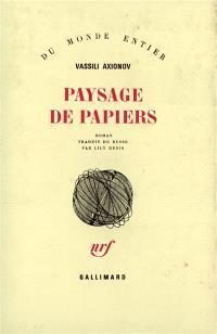 Paysage de papiers