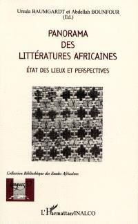 Panorama des littératures africaines : état des lieux et perspectives