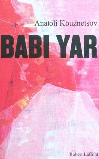 Babi Yar : roman-document
