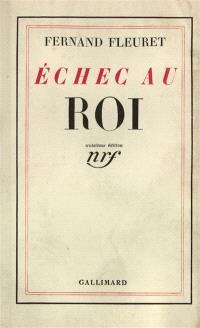 Echec au roi : tableaux de la fin d'Henri IV