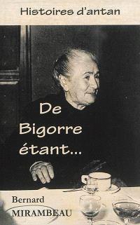 De Bigorre étant...