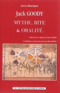 Mythe, rite & oralité